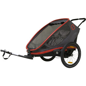 Hamax Outback Fietstrailer, red/charcoal